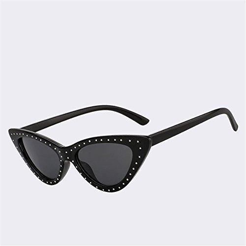 Sonnenbrille Vintage Dreieck Gläser Street Style Angeln Golf Schutzbrille Fahren läuft Wayfarer im Freien schützende Strand Reisen Mode, EINE