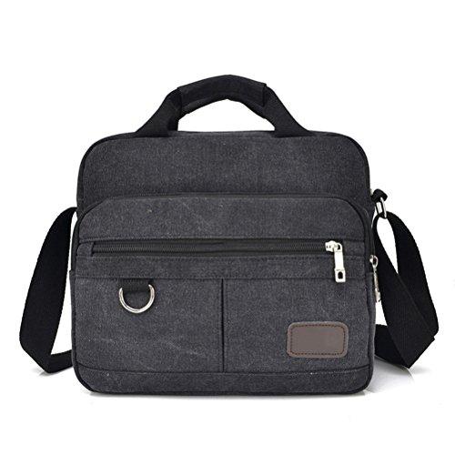 Vintage Canvas Aktentasche Männer Laptop Koffer reisen Handtasche Männer Business Taschen männlichen Messenger Bags Umhängetaschen