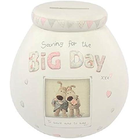 Pot Of Dreams Ceramic Money Box/ Pot BOOFLE WEDDING FUND