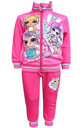 Mädchen Offiziell lizenzierte LOL Überraschung mit Fleece-Futter Anzug Trackpant Alter 10 Jahre