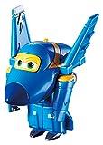 Alpha Animation & Toys- Super Wings YW710030 Mini Transform a Bots Jerome Flugzeug, Color Negro, Azul, Amarillo (