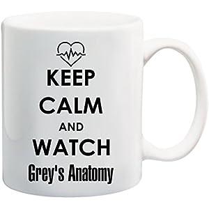Bedruckte Tasse mit Motiv Grey's Anatomy Motivtasse Kaffeebecher Kaffeetasse