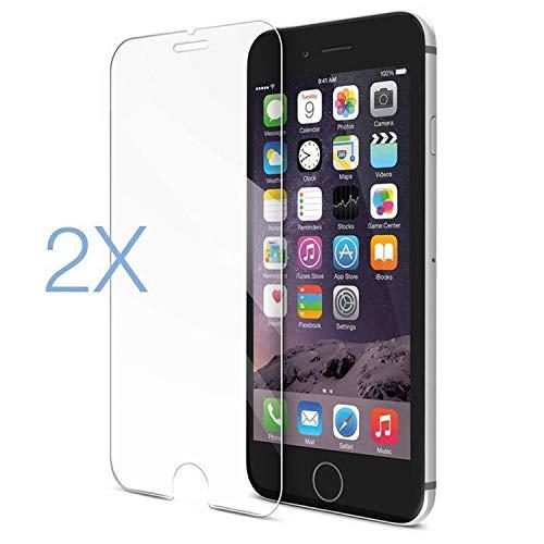 Vikimen Screen Protector, 2PCS/Lot Film Tempered Glass Screen Protector Protection En Verre Trempe Ecran Protecteur for Iphone6 iPhone 6 S 6S 7 8 XS Max X for iPhone X XS 5.8 Tempered Glass