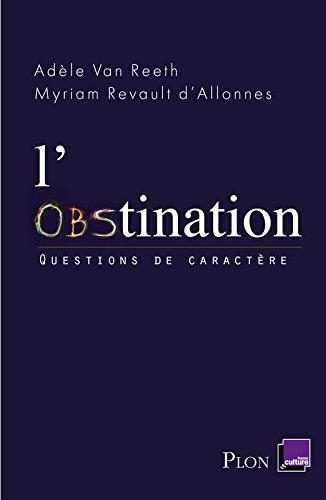 L'obstination