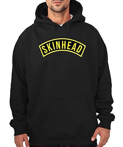 -- Subkultur - Skinhead -- Boys Hoody Schwarz, Größe