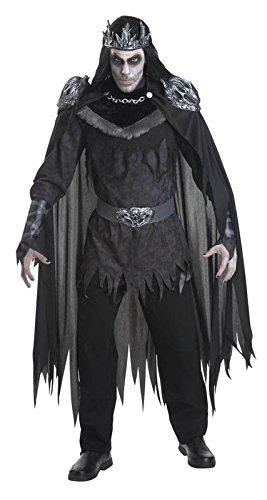 Fürst des Todes Halloween Karneval Kostüm
