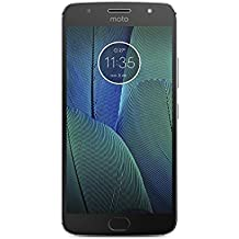 "Motorola Moto G5s Plus - Smartphone libre de 5.5"" Full HD (4 G, Bluetooth 4.2, Octa-Core de 2.0 GHz, memoria 32 GB, 4 GB RAM, cámara de 13 MP, Android) gris - [Exclusivo Amazon]"