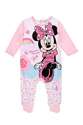 Disney -  pigiama intero - bebè femminuccia rose clair 18 mesi