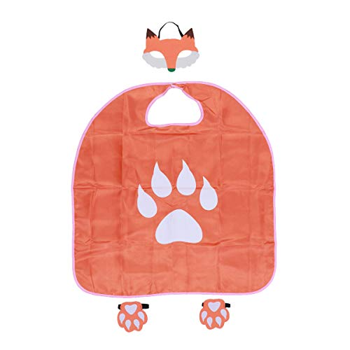 BESTOYARD Kinder Fox Maske Paw Cape Set Halloween Party Cosplay Leistung Kostüm (Fox Halloween-kostüm Kleinkind)