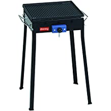 Ferraboli Ghisa Gas Mono - Barbecue (Automobile, Nero, Piazza, 5 cm, 49 cm, a 7 cm)