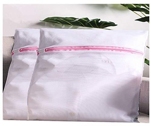 DurReus Extra große, strapazierfähige Wäschesäcke aus Netzstoff, für den Haushalt, für Wohnheime, Camping, Fabrik, Reisen, 2 Stück 2pcs Fine Mesh XL - Mesh-zwei Stück Höschen
