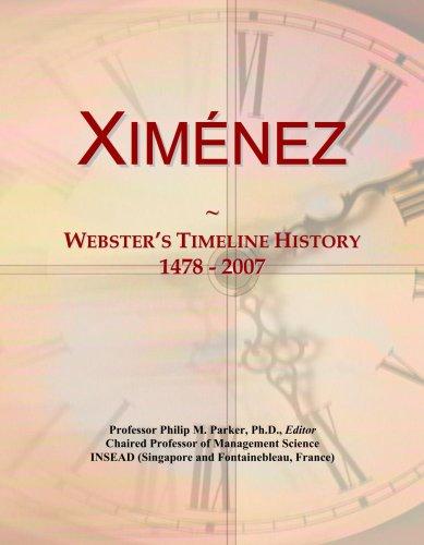 Xim¿nez: Webster's Timeline History, 1478 - 2007