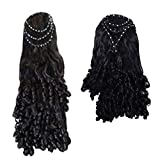 STYLIST PARTY WEAR HAIR EXTENTION HAIR WIG FOR WOMEN & GIRLS(PACK OF 2)