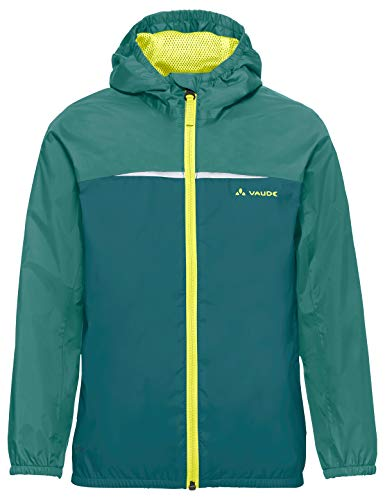 Vaude Jungen Kids Turaco Jacket Jacke, Nickel Green, 122