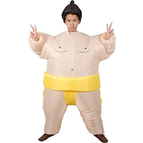 MIMI KING Sumo Aufblasbare Kostüm-Cosplay Für Erwachsene/Kinder, Halloween -