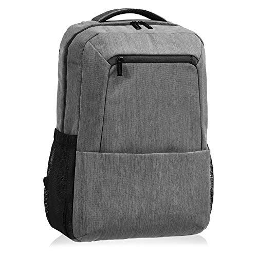 AmazonBasics - zaino professionale per laptop da 15,5', grigio