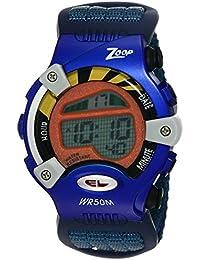 Zoop Digital Grey Dial Children's Watch -NKC3002PV02