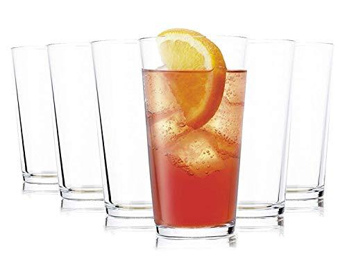 Tivoli Vasos de Agua Liverpool- 490 ml - Set de 6 - Vasos Apto para la