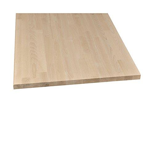 Möbelbauplatte Regalbrett Leimholz Buche 2500 x 500 x 18 mm