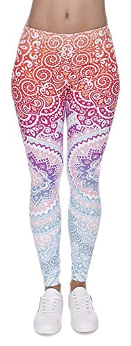 Eazyhurry - Leggings sportivi -  donna Pattern 1