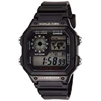 Casio Watch For Men - Digital AE-1200WH-1AVEF Resin