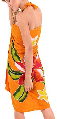 traje-de-bao-de-las-mujeres-cubre-para-arriba-rayn-suave-mujeres-pintura-mano-3x-sarong-naranja-traje-de-bao