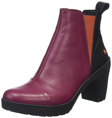 ArtTravel Chelsea Boot - Stivaletti donna, Multicolore (Star Cerise), 39 EU (6 UK)