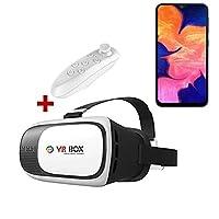 Samsung Galaxy A10 VR BOX 3D Sanal Gerçeklik Gözlüğü Kumandalı