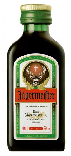 Jagermeister is a complex, aromatic drink which contains over 50 different herbs, fruits and spices.