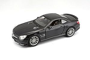 Bburago - Mercedes-Benz SL 500 Hardtop, Color Rojo (18-21067)