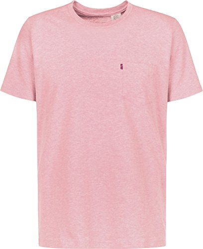Levi's Sunset Pocket T-Shirt Pink Nectar HTHR -