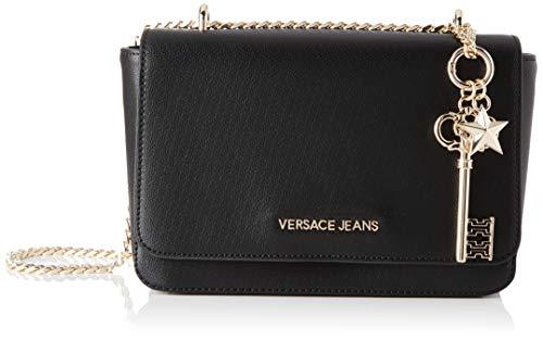 Versace Jeans Bag, Borsa a tracolla Donna, Nero, 7x15x24 cm (W x H x L)