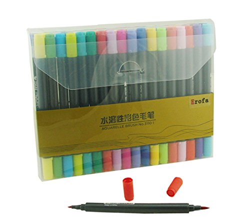 erofa-markers-permanent-color-pens-with-double-head-water-based-colored-penperfect-for-school-and-of