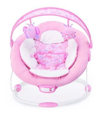 CUTE BABY – BETTY THE BUTTERFLY(PINK) MUSICAL VIBRATING BOUNCER (6838) 41cvUFUeZ5L