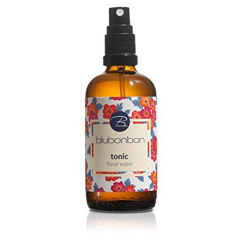 Floral Tonic (blubonbon, reine Naturkosmetik • tonic - floral water • 100 ml Blütenwasser • wirksame Hautpflege auf ganz natürliche Art • Rosenwasser, für trockene Haut, steigert Wohlbefinden)
