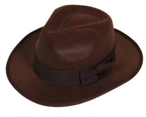 chapeau marron feutre Exploreur