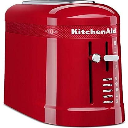 Kitchen-Aid-Queen-of-Hearts-Design-2-Scheiben-Langschlitz-Toaster-Passion-red-Limited-Edition