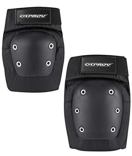 Osprey Skateboard Knie- und Ellenbogenschützer Set, Erwachsene, mittel L schwarz
