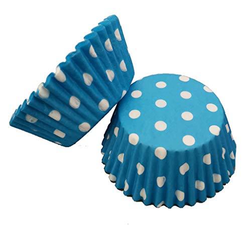 erthome 100 stücke Bunte Papier Kuchen Cupcake Liner Fall Wrapper Muffin Backenschale Party Craft kartons, die für den täglichen zuhause reisen (C) (Cinderella Cupcake Kuchen)