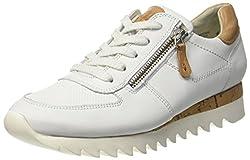 Paul Green Damen 4485001 Sneaker, Weiß (White), 40 EU ( 9 US)