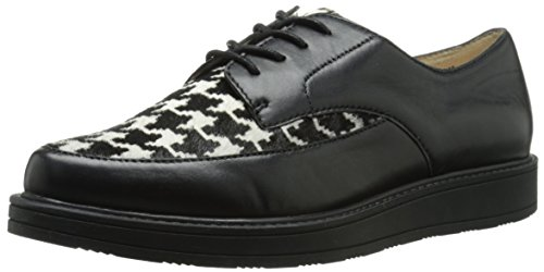 Nine West Barbieri Cuir Oxford Noir
