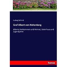 Graf Albert von Hohenberg: Alberts Herkommen und Heimat, Vaterhaus und Jugendjahre