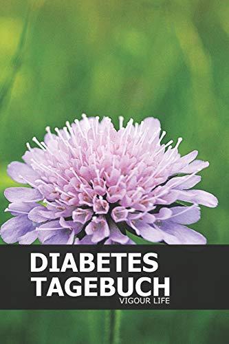 Diabetes Tagebuch: Blutzucker und Insulin im Blick behalten für mehr als 100 Tage - Klein & Kompakt ca. A5