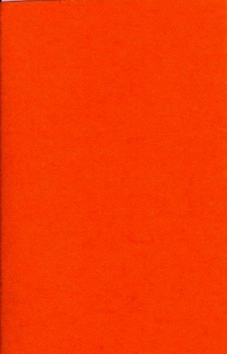 1 Bogen Bastel-Filz 20 x 30 cm – Stärke: 2mm – Farbe nach Wahl (Orange)