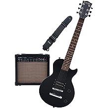 Rocktile L-50B Junior escala 3/4 guitarra eléctrica set con amplificador, correa