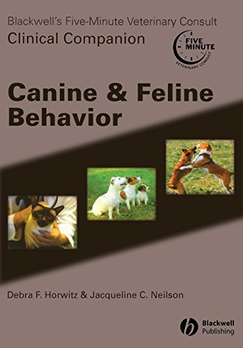 Blackwell's Five Minute Veterinary Consult Clinical Companion Canine & Feline Behavior with CD by (2007-06-25)