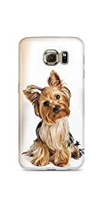 Cute Yorkshire Terrier Samsung Galaxy S6 Matte Case