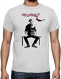 Camiseta de Hombre Batman Harley Quinn Jocker DC