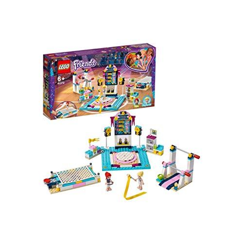 LEGO 41762 Friends Stephanie's Gymnastics Show Playset with 3 Sport Disciplines Accessories, Stephanie and Mia Mini Dolls Best Price and Cheapest