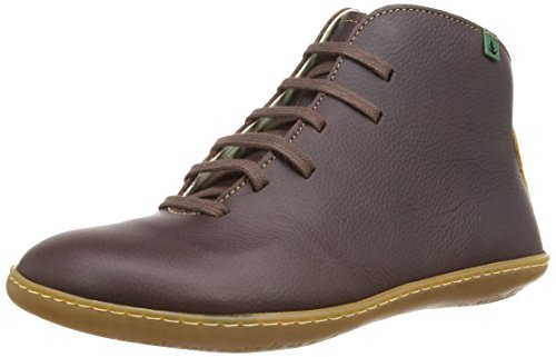 El Naturalista El Viajero N267, Scarpe a Collo Alto Donna Marrone (P.Grain Brown)